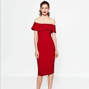 NWT Zara Midi dress